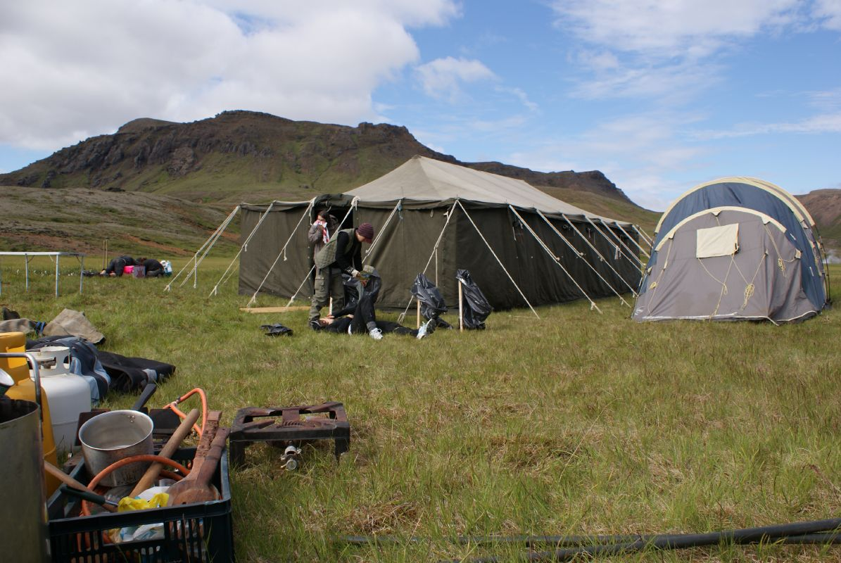 Saving Iceland's 2008 Action Camp on Hellisheiði