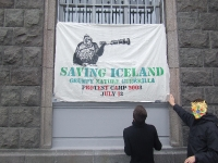 Anouncement of the Saving Iceland Action camp