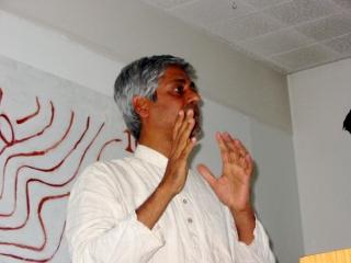 Samarendra Das á Íslandi 2008