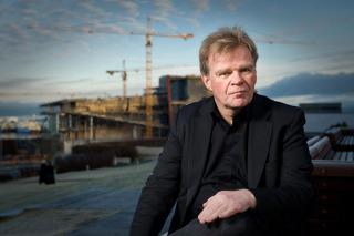Einar Már Guðmundsson - Photo by Cristopher Lund