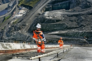 Workers at Kárahnjúkar