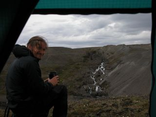 Mark Kennedy at Kárahnjúkar in 2005