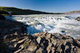 Urriðafoss waterfall. Photo by Christopher Lund.