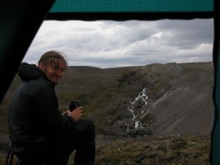 Mark Kennedy in Iceland