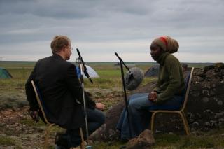 Andri Snær Magnússon and Attilah Springer