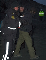"""Mark Kennedy """"detained"""" by the Icelandic Police"""