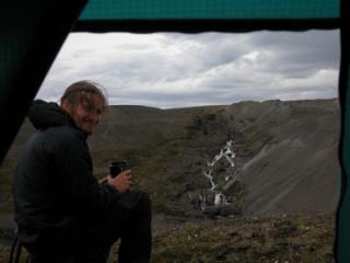 Mark Kennedy in Iceland