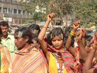 Adivasi protest vs. bauxite mining