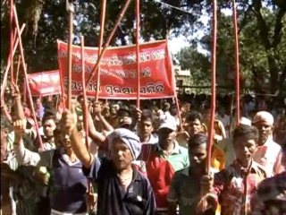 Lanjigarh Demo 6th December 2012
