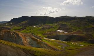 Grændalur valley. Photo: Ellert Grétarsson
