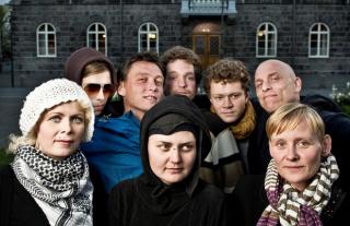 Eight of the Reykjavík Nine