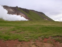 Þeistareykir scenery before drilling (2004)
