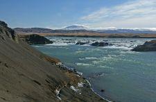 Urriðafoss Waterfall in Þjórsá