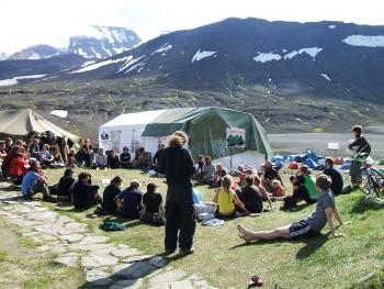 Saving Iceland camp 2006