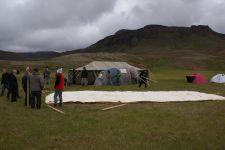 Camp 2008 Hellisheidi Setup