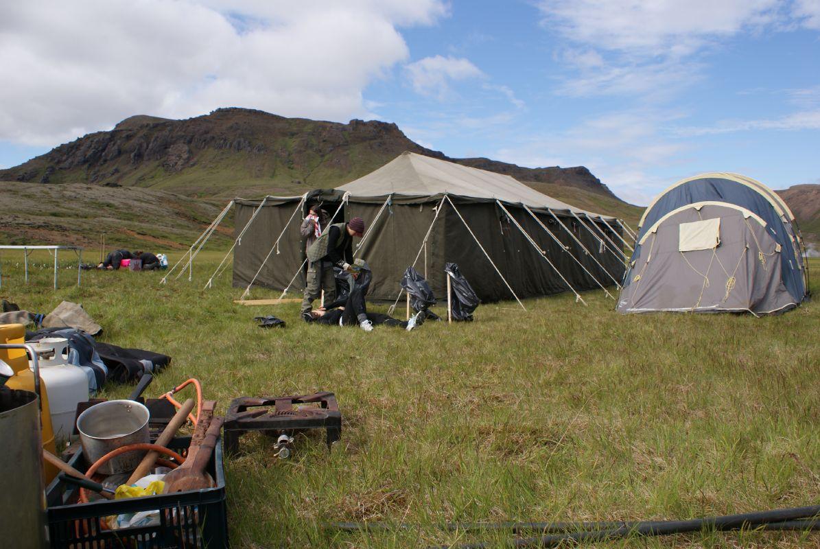 Saving Iceland's 2008 Action Camp on Hellisheiði