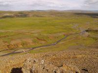 View of the Hellisheidi Camp
