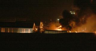 Alcoa burns: Fire in Alcoa's smelter in Reyðarfjörður, December 2010