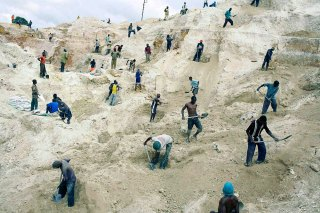 Coppermine in Congo