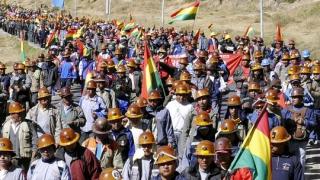 Bolivia: Protest against Glencore