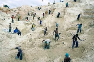 Coppermine in Congo