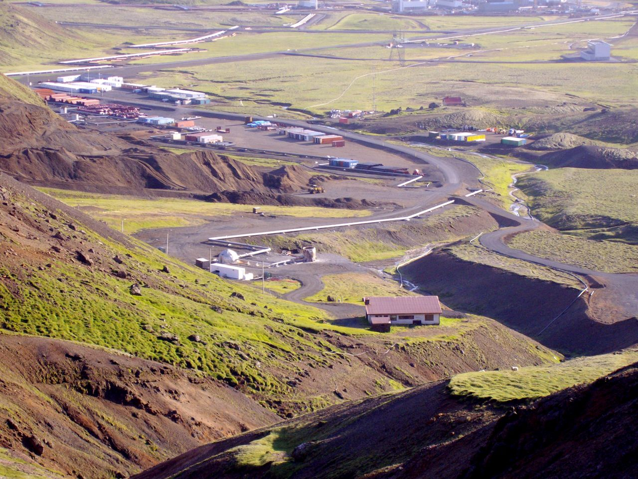 Drilling at Skardsmyrarfjall - Saving Iceland's photo from 2008