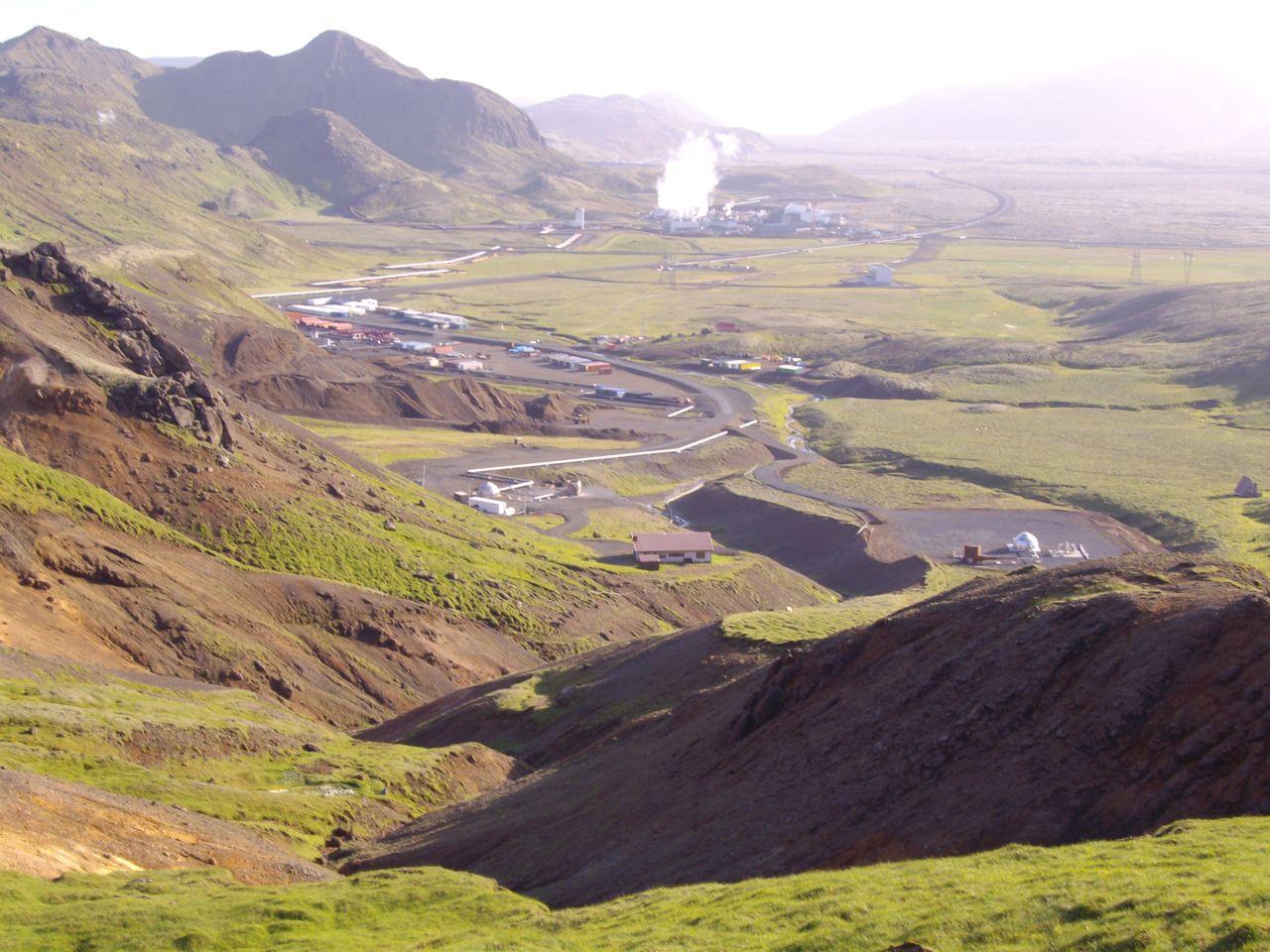 imgp0422.Drilling at Skardsmyrarfjall