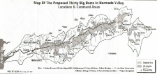 Map of the Narmada Valley
