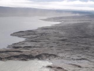 Hálslón -- Kárahnjúkar Dams' muddy reservoir