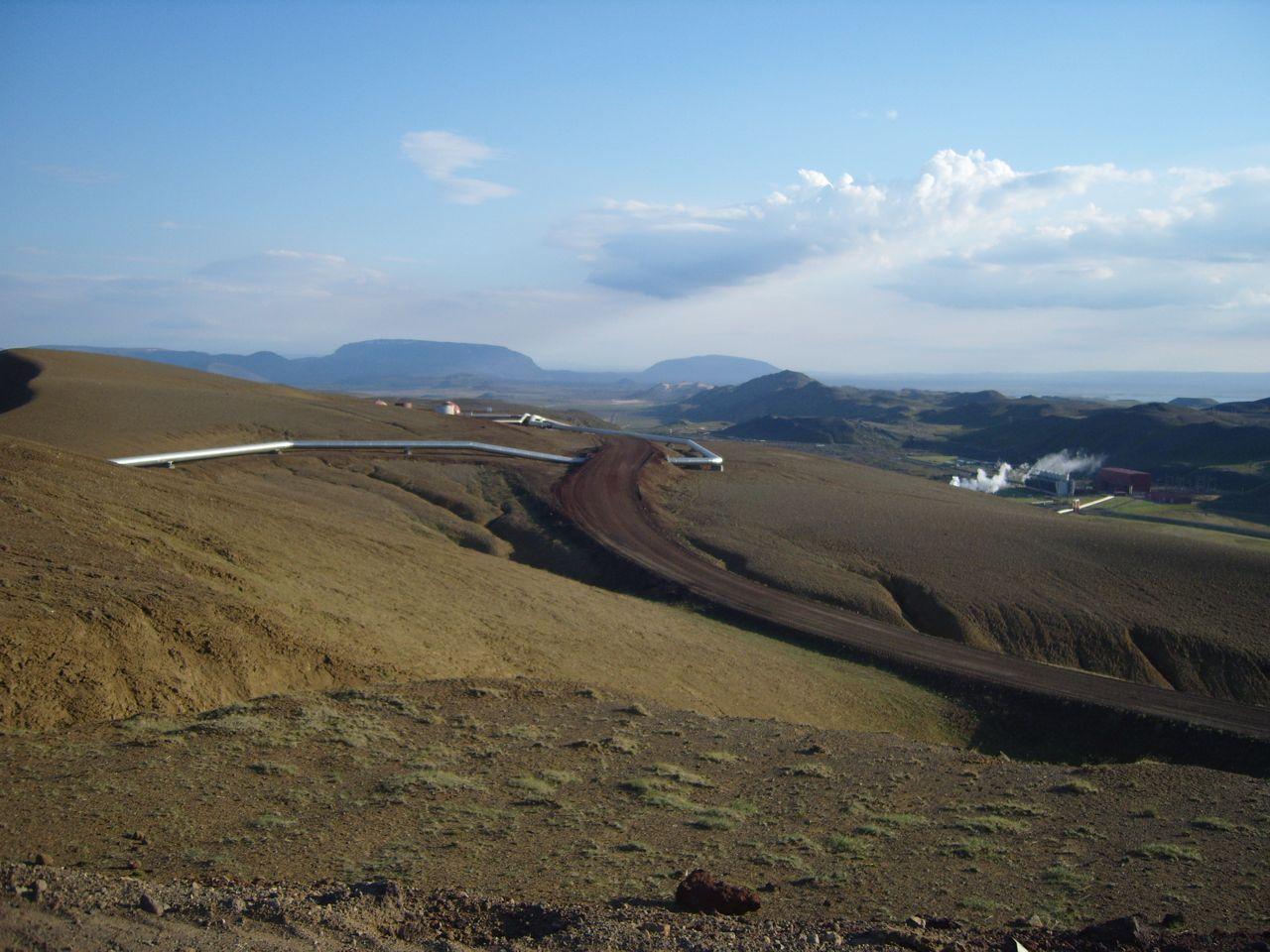 Southward view from Viti