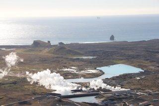 Similar Lagoons by Reykjanesvirkjun Power Plant (Photo: Ómar Ragnarsson)