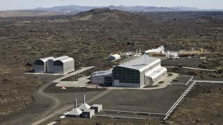 Reykjanes Geothermal Plant