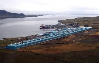 Norðurál\'s Smelter in Grundartangi, Hvalfjörður