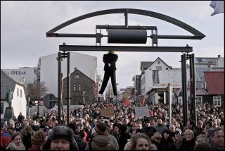 Hanging Capitalist