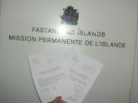 Visit to all Icelandic consulates in Switzerland (Geneva).