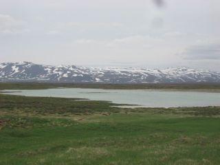 Þeistareykir effluent lagoon