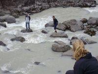 20-7-2008 - Saving Iceland visit to Þjórsá