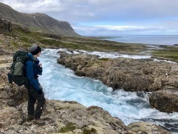 Eyvindarfjarðarárfoss.