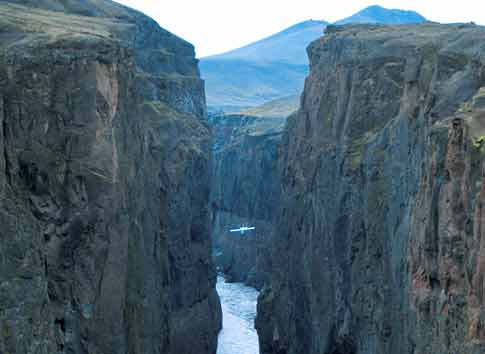 Dimmugljúfur - Dark Canyon at Kárahnjúkar