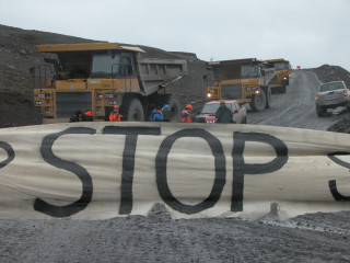 Saving Iceland stops work at Karahnjukar in 2005