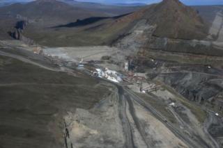 Karahnjukar central dam site